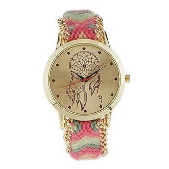 Pulsera Reloj Multicolor Cometa Comodo Moda para Mujeres Niños Navidad Cumpleaños Regalo