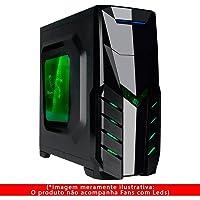 Gabinete Gamer Detalhes Black Piano, Pixxo, Acessórios para Computador, Preto