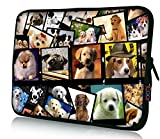 iColor 11.6' 12' Laptop Sleeve Bag 12.2' Neoprene Notebook Tablet Computer PC Protective Carrying Case Cover-Dogs