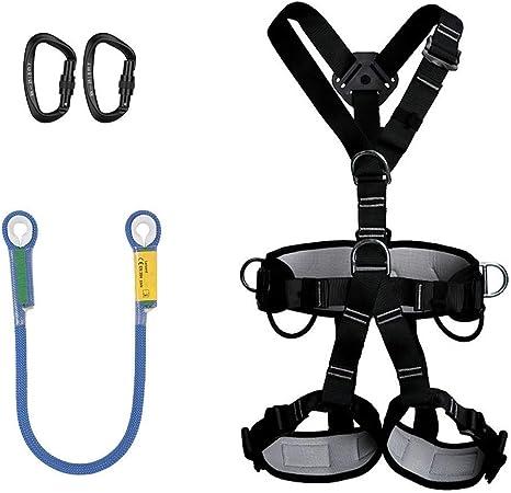 Kit de arnés de escalada profesional Cinturón de seguridad de ...