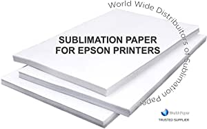 "Sublimation Paper for Epson Printer 8.5"" x 11"" (200 Sheets)"