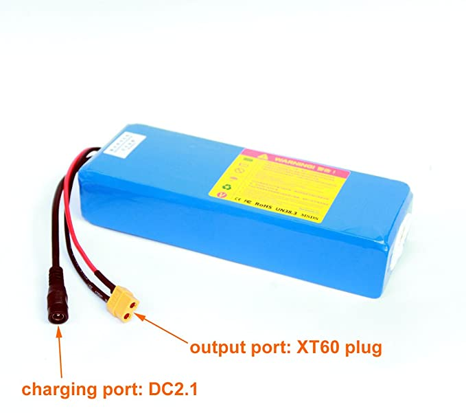 Amazon.com: 36 V 5 Ah Electric Skateboard battery Pack ...