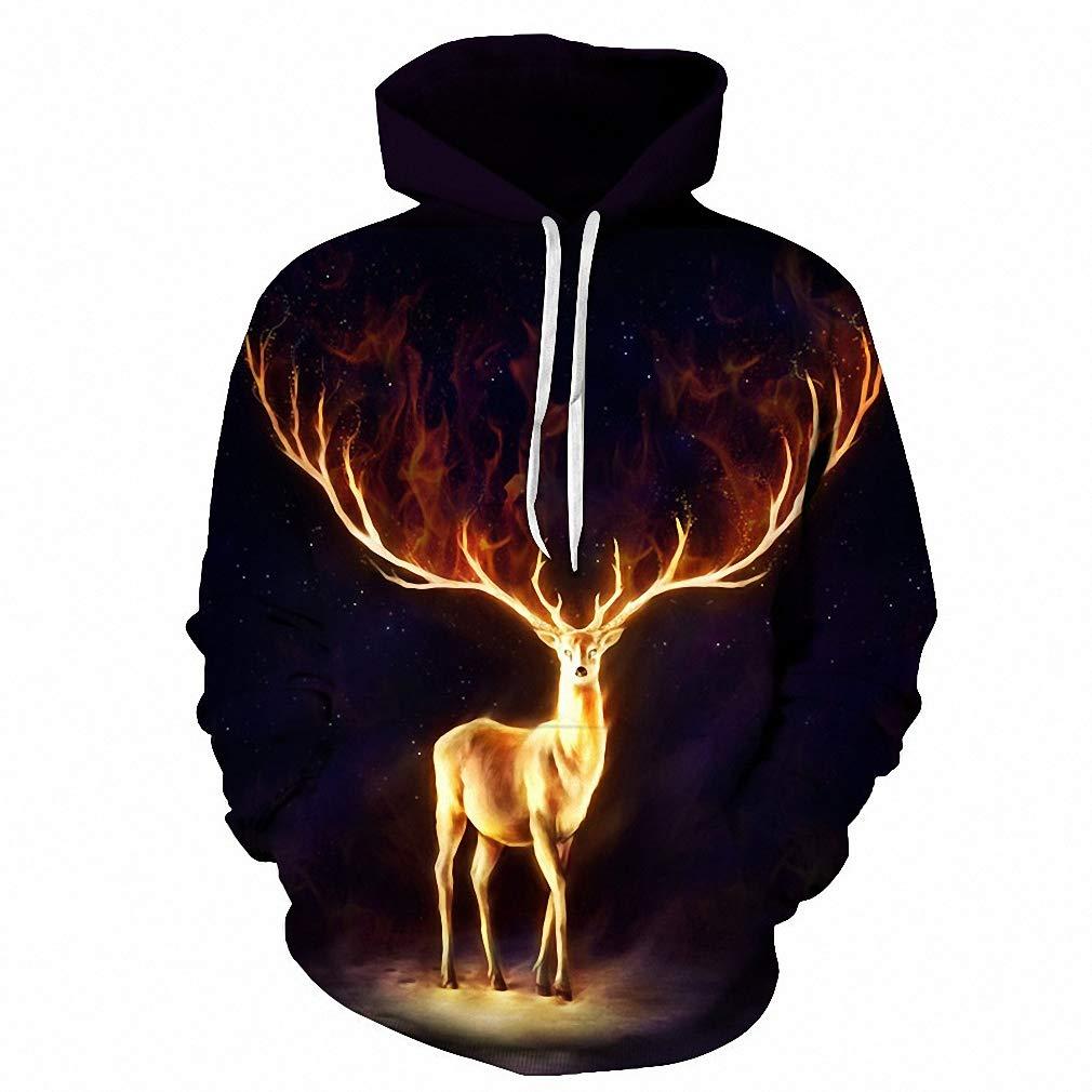 Emlyn Adrian Firewalker 3D Hoodies Men Women Sweatshirts Hoodies Tracksuits Pullovers