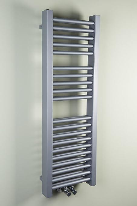 Aarhus - Toallero calientatoallas doble diseño – 814 W – Radiador de calefacción baño cocina 1000