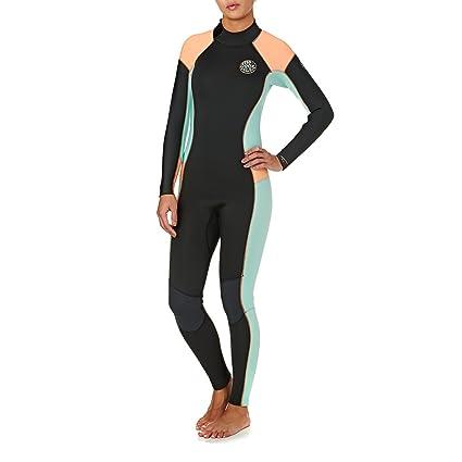 Amazon.com  Rip Curl Womens Dawn Patrol 43mm Back Zip Wetsuit 14 Reg ... d31211cdb