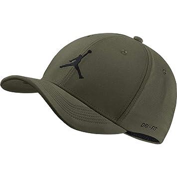 Jordan Jumpman clc99 Woven Gorra de Tenis, Unisex Adulto, (Olive Canvas/Negro), S/M: Amazon.es: Deportes y aire libre