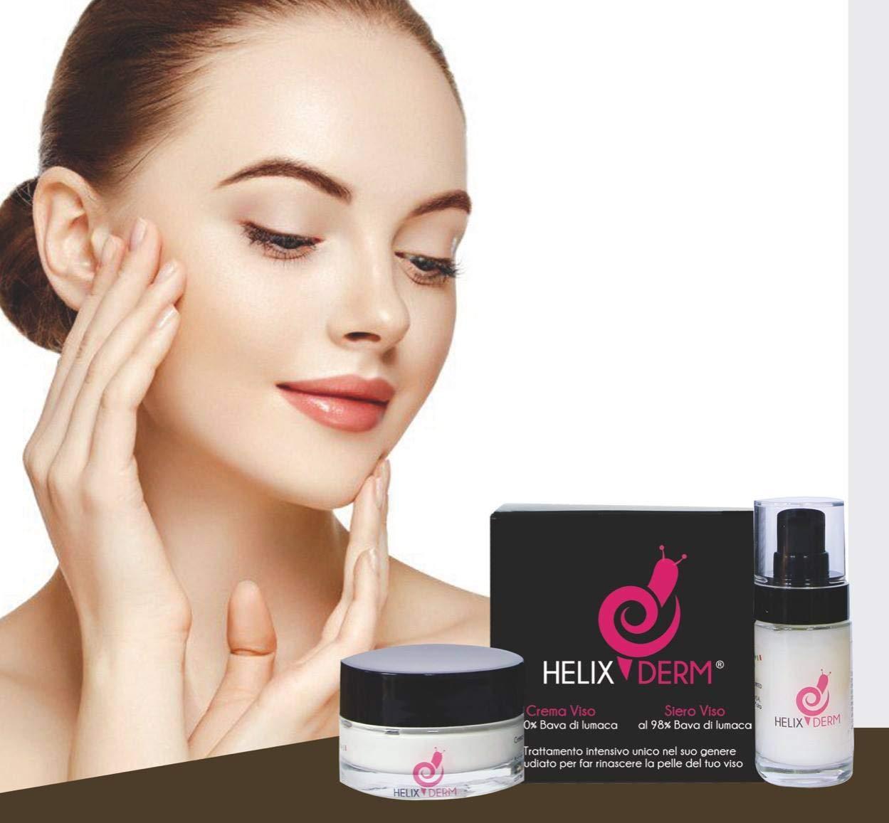 Crema 50ml + Serum 30ml 98% Baba de Caracol ANTIARRUGAS y Anti-Envejecimiento y Acción CALMANTE HIDRATANTE Contra las Manchas de Envejecimiento y los VISO ...