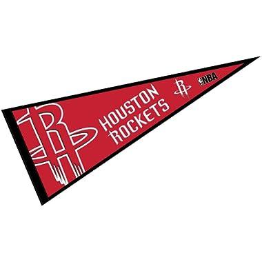 WinCraft Houston Rockets Pennant Full Size 12  X 30