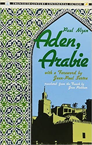 Book Aden, Arabie Reprint edition by Nizan, Paul (1987)