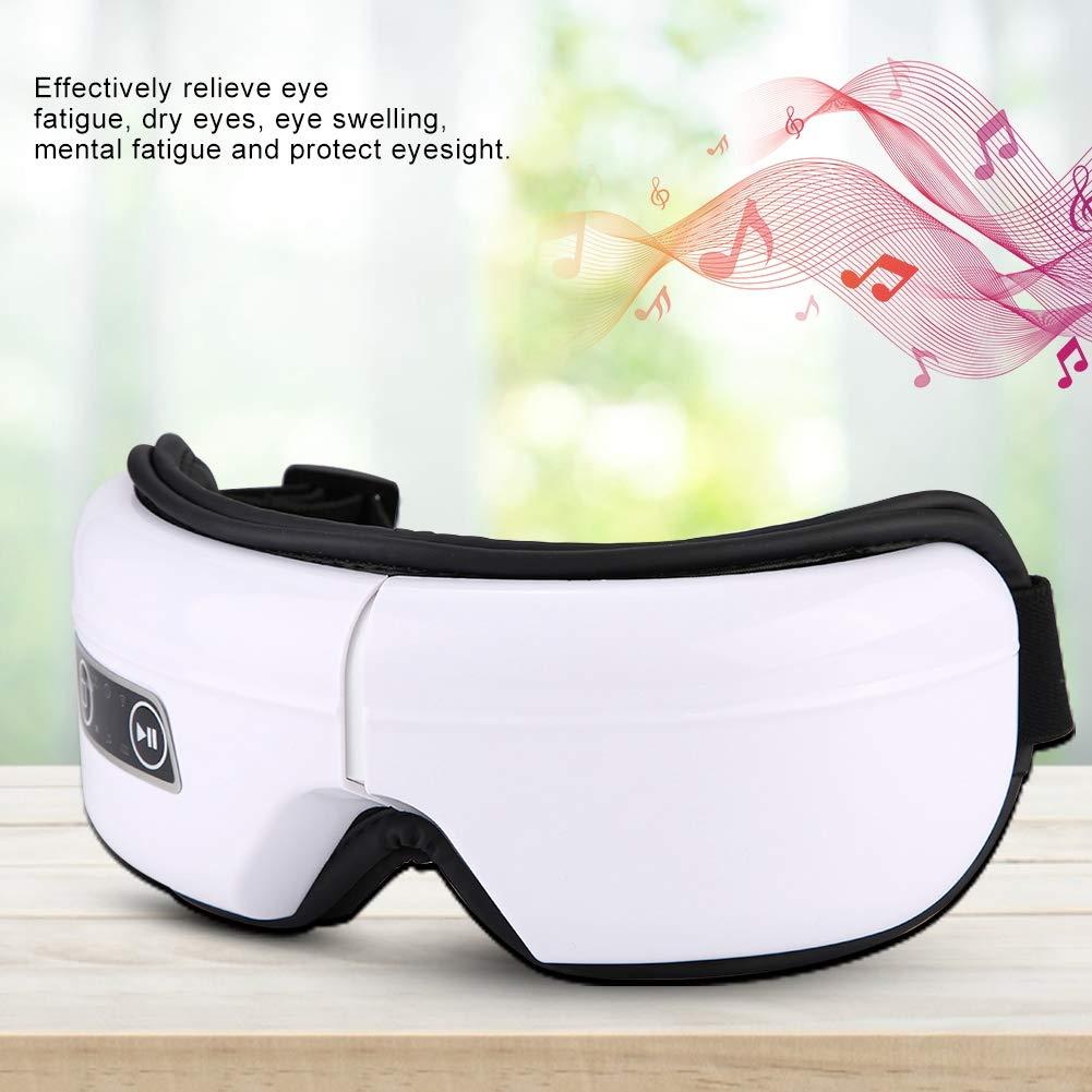 Eye Massager Elettrico Massager Portatile del Tempio Wireless USB Massaggiatore a infrarossi per Occhi Pressione dellAria di Riscaldamento Vibrazione del massaggiatore Cura della Visione Musicale
