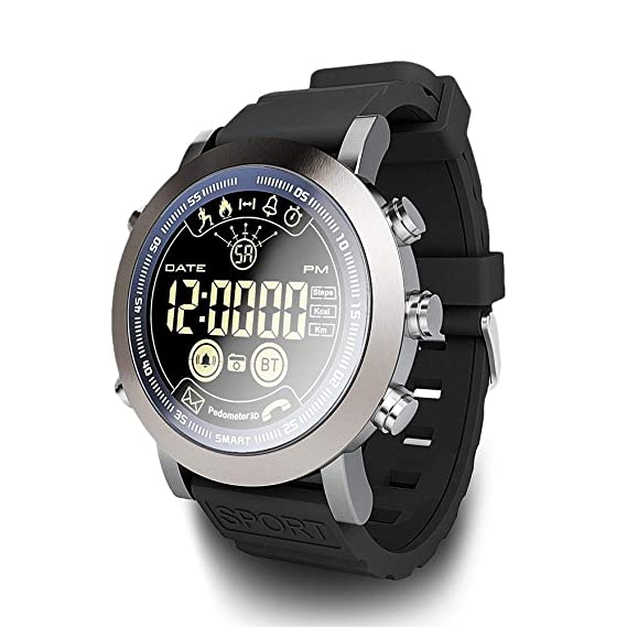 LEMFO LF23 Smart Watch,IP68 Waterproof Swimming 610Mah Battery Remote Camera Alarm Clock Message Reminder