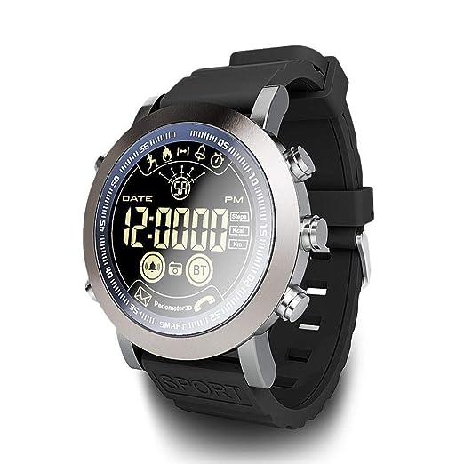 LEMFO LF23 Smart Watch, IP68 Impermeable natación 610 Mah batería Remoto cámara Despertador Reloj Mensaje recordatorio Deporte Reloj Inteligente para ...