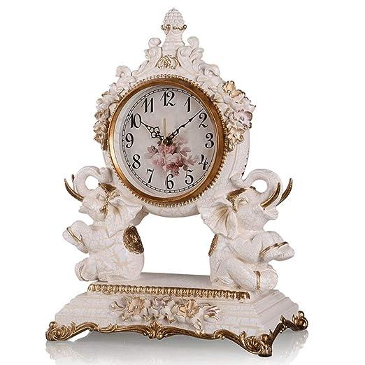 Reloj LWF Mesa Sala de Estar Decoración Dormitorio Escritorio Sin ...
