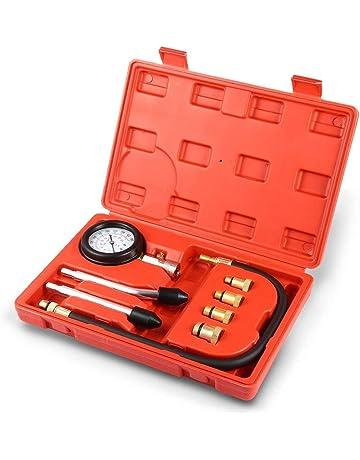Meccion - Medidor de presión de Cilindro de Motor, Herramienta de diagnóstico, Juego de