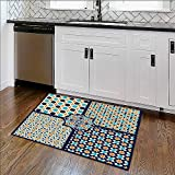 Indoor/Outdoor Rug islamic patterns set in color vectoral te x ture Stain Resistant Carpet W22'' x H12''