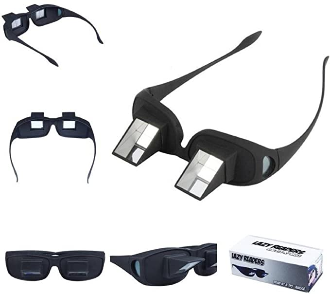 de4b80dcdca BNOSLLP Lazy Readers Prism Horizontal Glasses for Reading Watching TV   Amazon.in  Health   Personal Care
