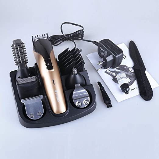 HECHEN Barbero Electrico, Afeitadora Corporal Recortador de Barba ...