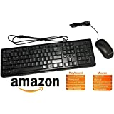 buy amazonbasics wired keyboard and wired mouse bundle pack online at low prices in. Black Bedroom Furniture Sets. Home Design Ideas