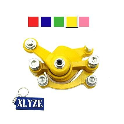XLYZE pinza de freno de disco delantera amarilla para 47cc ...
