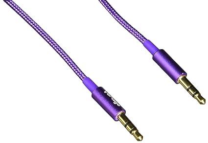 Vorago CAB-108 Cable de Audio de 3.5 mm, color morado: Amazon.com.mx ...