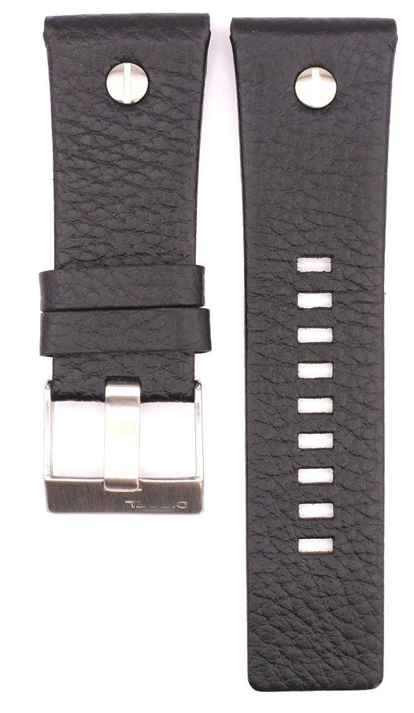 腕時計ベルトストラップ 28mm レザー DZ7311 DZ7323 DZ7250 DZ7322用 28mm brown B074TQW5NM