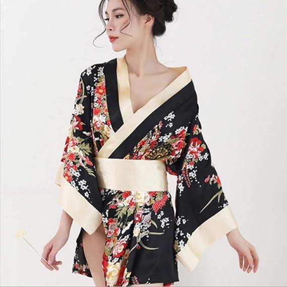XDXDO La Ropa Interior Atractiva para Mujer Japonesa Kimono ...