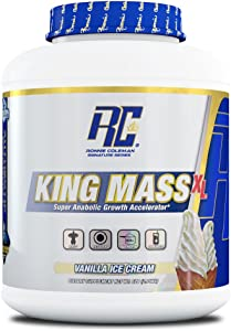 Ronnie Coleman Signature Series, King Mass-XL Super Anabolic Growth Accelerator, Vanilla Ice Cream, 6 Pound