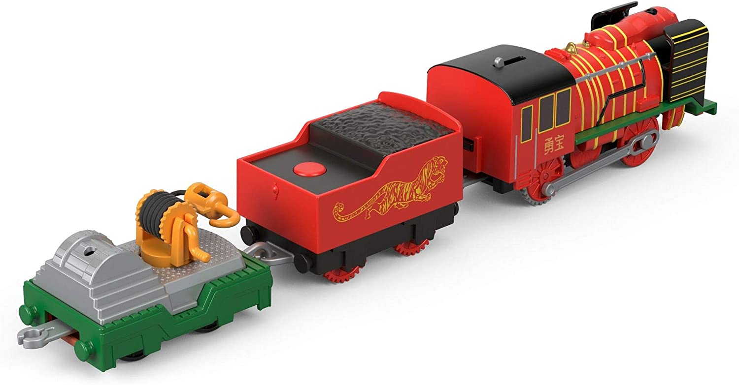 Fisher-Price Thomas /& Friends TrackMaster Yong Bao Rescue