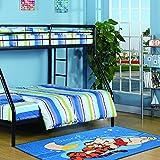 Home & More Child's Play Intercative Kids Area Rug 3x4.5 Feet 2 - Disney Theme Rugs
