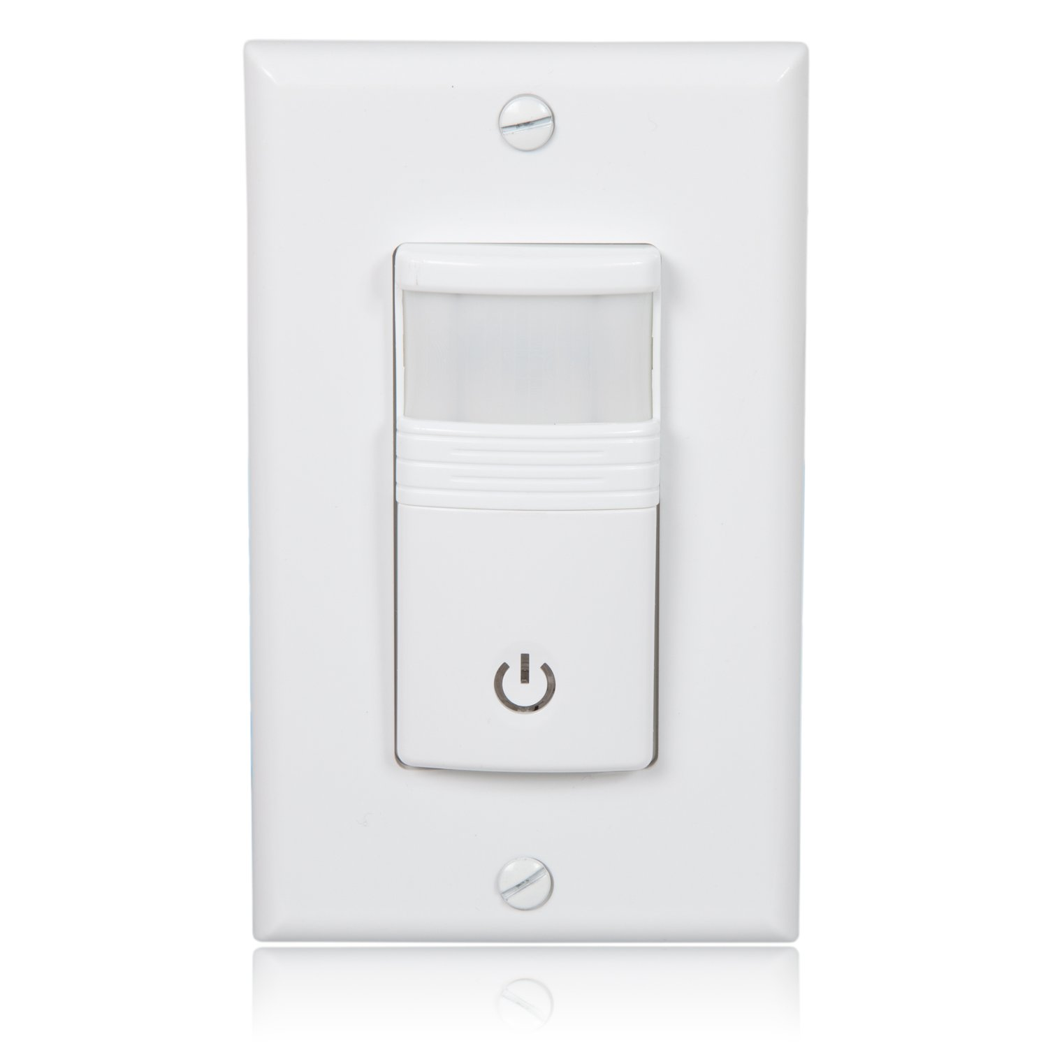 Maxxima Occupancy Vacancy Motion Sensor PIR Wall Switch, Wall Plate Included