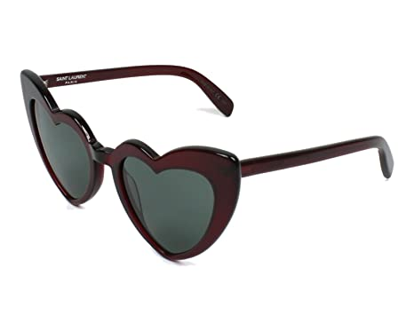 Saint Laurent Damen Sonnenbrille SL 181 Loulou 004, 4/Green, 54