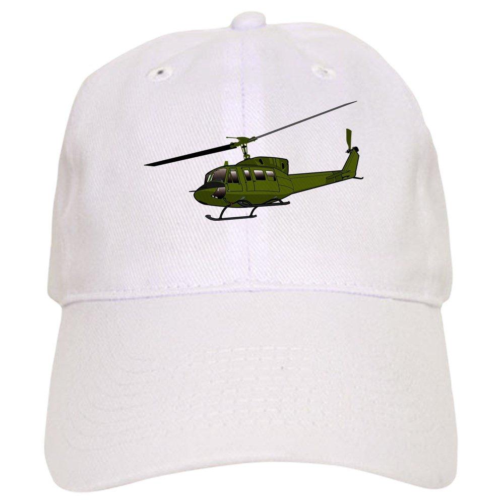 3b76f27039f453 Amazon.com: CafePress Huey Helicopter UH 1 Color Baseball Cap with  Adjustable Closure, Unique Printed Baseball Hat Khaki: Clothing