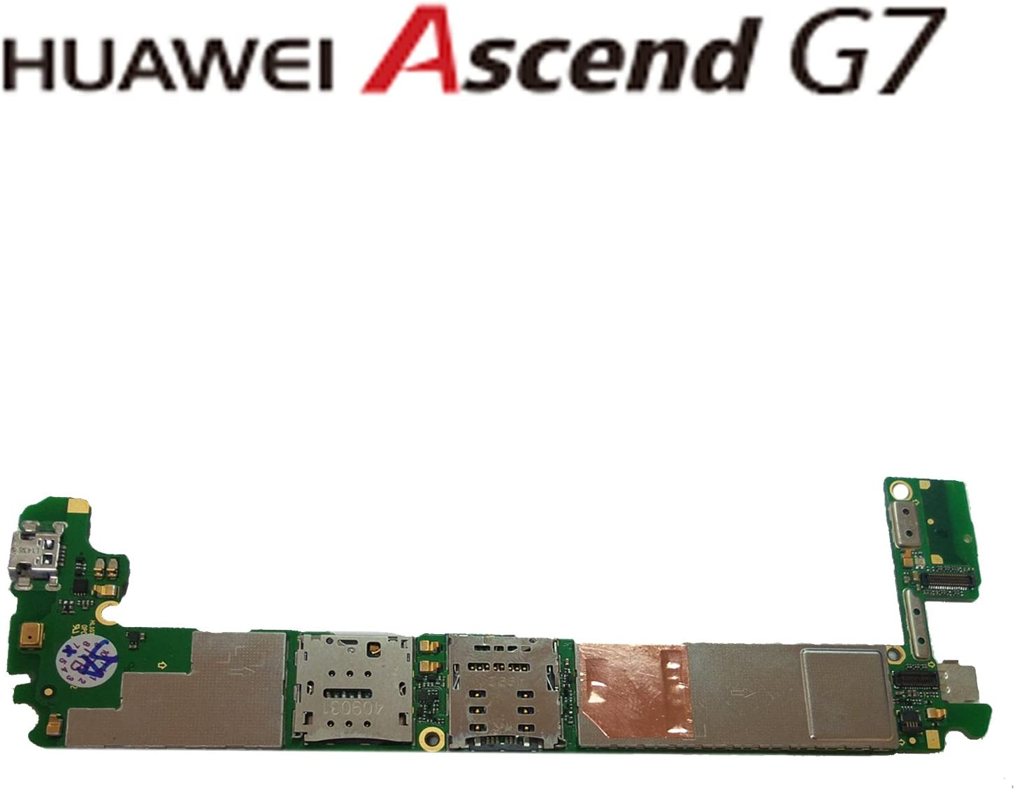 RBE Placa Base Motherboard Huawei Ascend G7 L01 16 GB Libre ...