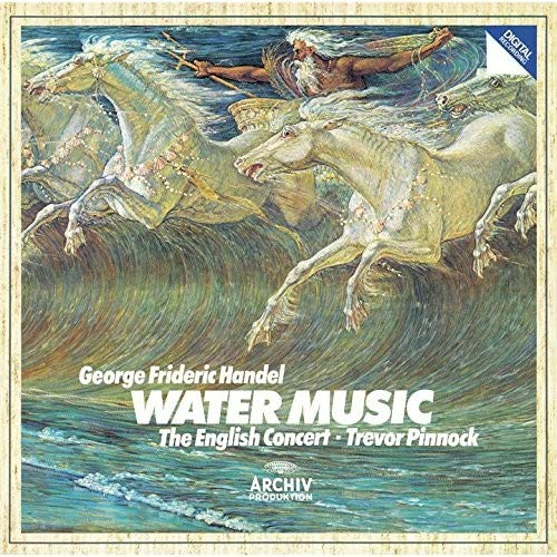 CD : PINNOCK,TREVOR - Handel: Water Music (Super-High Material CD, Japan - Import)