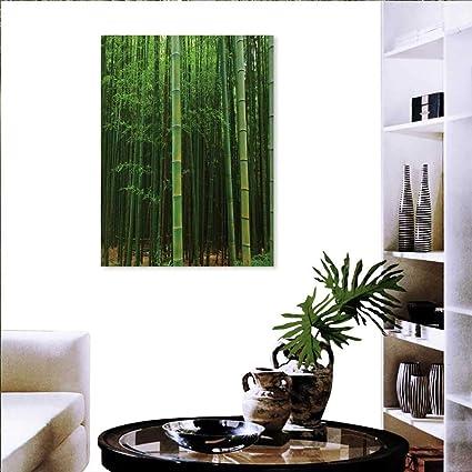 Amazon Com Warm Family Bamboo Artwork Wall Decor Picture A Bamboo