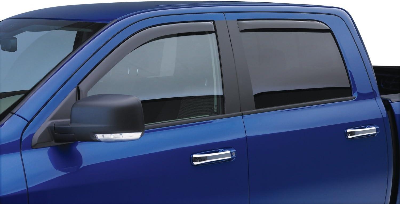 EGR 571505 SlimLine In-Channel WindowVisors Smoke Set of 4