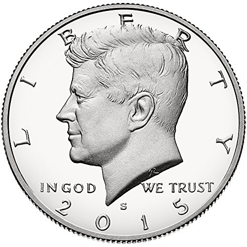 - 2015 Kennedy Kennedy Half Dollar Proof Clad From US Mint (1/2) Good US Mint