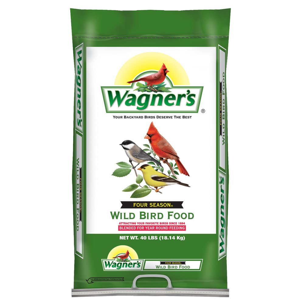 Wagner's 13013 Four Season Wild Bird Food, 40-Pound Bag by Wagner's