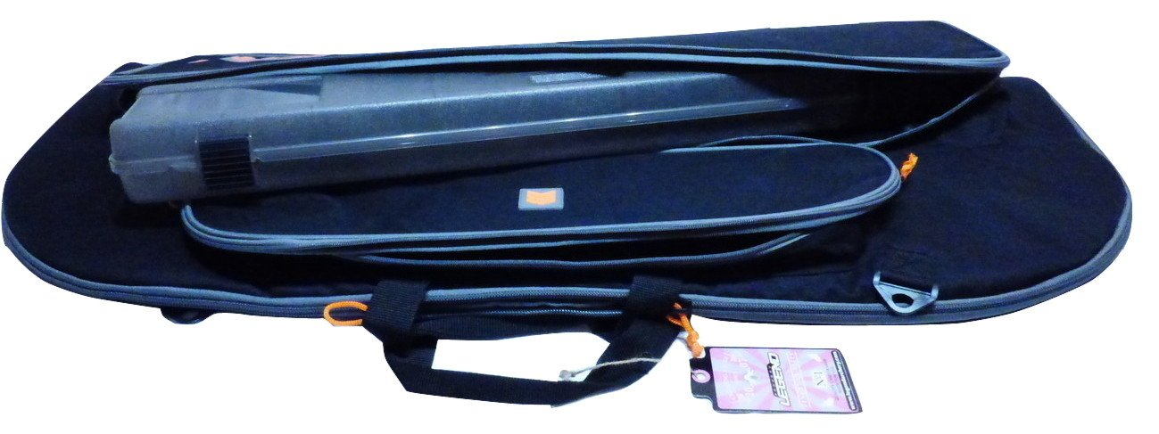 Legend Archery Bowarmor 116 Soft Padded Recurve Bow Case Bag Black