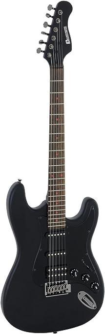 Guitarra eléctrica VEILING, mate-negro - Guitarra para ...