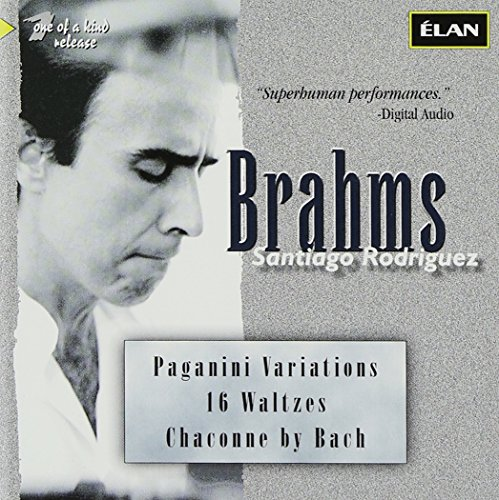 Brahms: Variations on a Theme of Paganini, Op. 35 / 16 Waltzes, Op. 39 / J.S.Bach: Chaconne in D minor, arranged for piano left hand