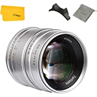 7artisans 55mm F1.4 Sony Camera Lens Large Aperture Portrait Manual Fixed Lens for Sony E-Mount Mirrorless Camera…>