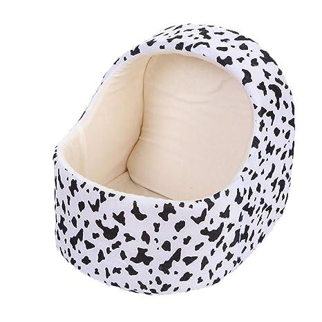 GHMHJH Nido de Mascotas * Lindo cálido Gato Mascota Cama Saco de Dormir Cama Semi-
