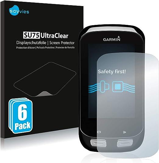 savvies Protector Pantalla Compatible con Garmin Edge 1000 (6 ...