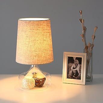 Nordic Ikea Lampe Schlafzimmer Nachttischlampen Glaslampe Moderne