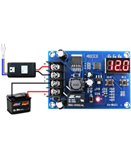 low voltage disconnect module lvd digital display on off relay charge controller for 12v 24v battery