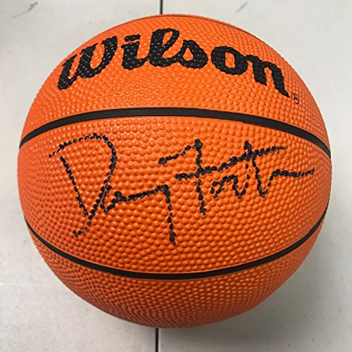 (Danny Fortson Signed Autographed Spalding Mini NBA Basketball Score Board)