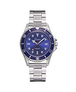 Men Watches hessimy Men's Business Casual Chronograph Quartz Analog Waterproof Wristwatch Stainless Steel Strap Men Fashion Wrist Watch Dress Sport Watches with Luxury Brand