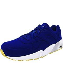 e3d8f2c5c753e5 PUMA Men s R698 Bright Ankle-High Fabric Fashion Sneaker