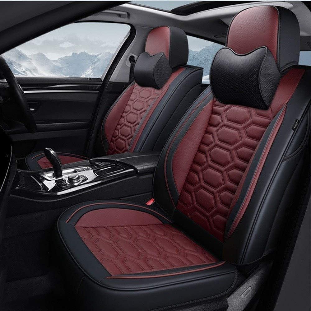 2 Frontal Negro Chaleco protectores de cubiertas de asiento de coche para Audi A6
